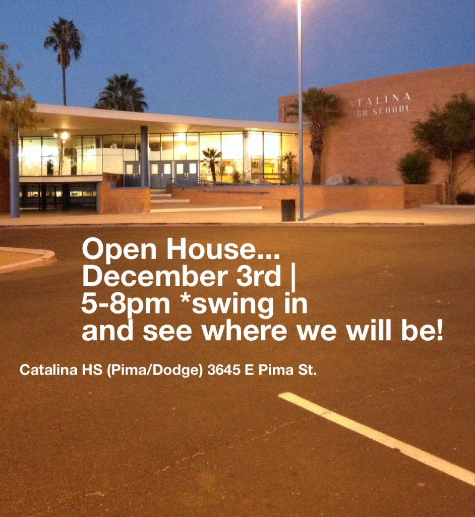 Open House slide info - Catalina HS